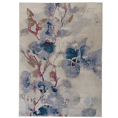Charlton Home Alberta Frosted Blossom Area Rug; 10' x 14'