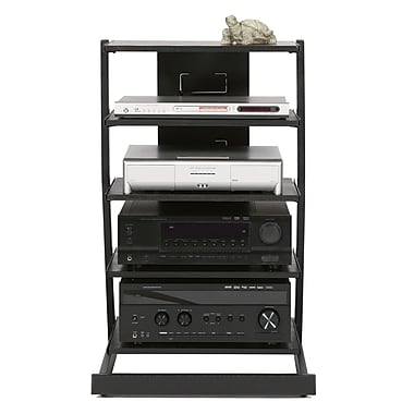 Latitude Run Audio Rack; 5-Shelf