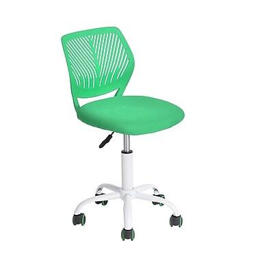 Ebern Designs Raymond Kids Desk Chair; Green