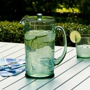 Mint Pantry Cecilio Beverage Pitcher; Recycled Green