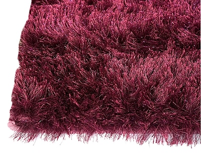 M.A. Trading Sunshine Hand-Woven Purple Area Rug; 8' x 10'