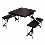 Picnic Time Camping Table; Black