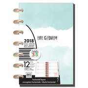 2018 The Happy Planner® Mini 12 month-Mint To Be (PLNM-60)