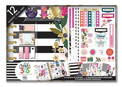The Happy Planner® 12 month Classic Undated Box Kit - Botanical (BOX-121)