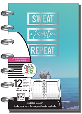 The Happy Planner® Mini 12 month Undated-Work For It (PLNM-57)