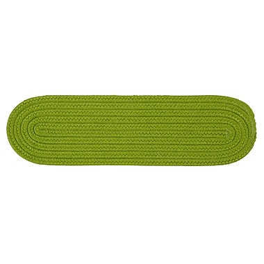 Winston Porter Mcintyre Bright Green Stair Tread; 1