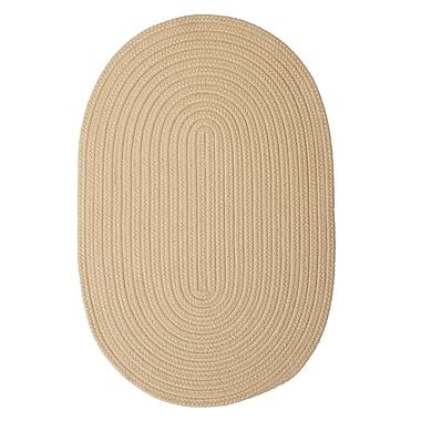 Winston Porter Mcintyre Linen Outdoor Area Rug; Oval 8' x 11'