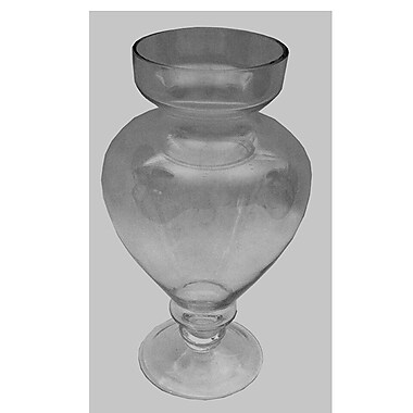 Alcott Hill Clear Glass Table Vase