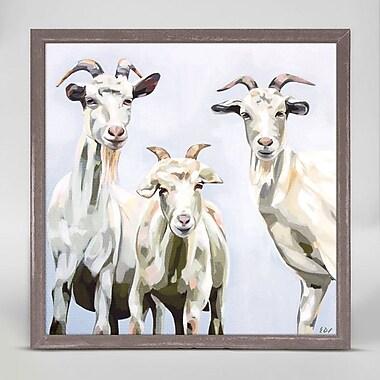 August Grove 'Hillbillies' Framed Print on Canvas