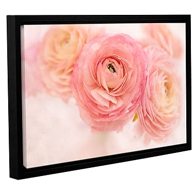 Winston Porter Stylish Flowers Framed Photographic Print on Wrapped Canvas; 32'' H x 48'' W x 2'' D