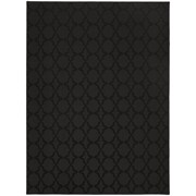 Willa Arlo Interiors Garlen Black Area Rug; 5' x 7'