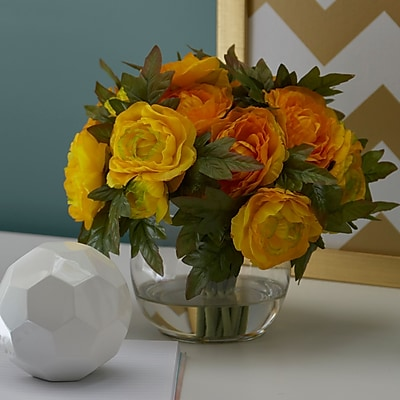 Ophelia & Co. Yellow Ranunculus Bouquet
