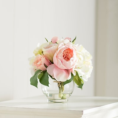 Ophelia & Co. Roses and Hydrangea Bouquet