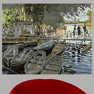 Charlton Home 1869 'Bathers at La Grenouillere' by Claude Monet Oil Painting Print Poster