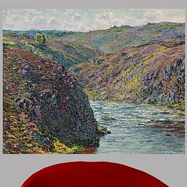 Charlton Home Claude Monet 'Ravines of the Creuse at the End of the Day' Painting Print Poster