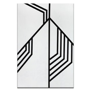 Corrigan Studio 'Geometric 12' Graphic Art Print on Wrapped Canvas; 60'' H x 40'' W