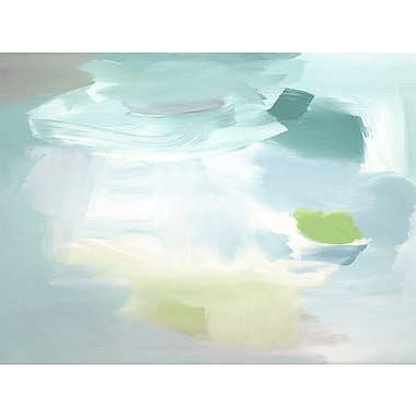 Ivy Bronx 'Calm Cool Collected' Abstract Print on Canvas; 30'' H x 40'' W