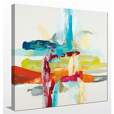 Ivy Bronx 'Synergy I' Painting Print on Wrapped Canvas; 36'' H x 36'' W