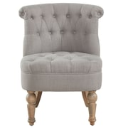 Ophelia & Co. Linnea Tufted Said Chair; Gray