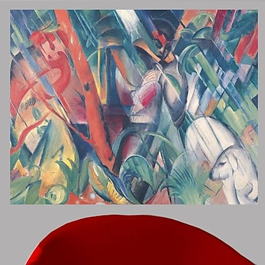 Ebern Designs 1912 'In the Rain' Oil Painting Print Poster; 47'' H x 60'' W