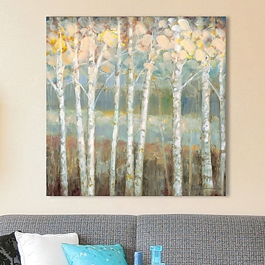 Red Barrel Studio 'Natures Palette I' Painting Print on Wrapped Canvas; 24'' H x 24'' W