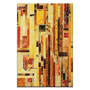 17 Stories 'Love & Music' Graphic Art Print on Wrapped Canvas; 30'' H x 20'' W