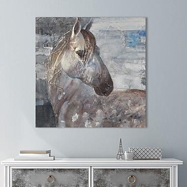 Union Rustic 'Appaloosa' Painting Print on Wrapped Canvas; 28'' H x 28'' W
