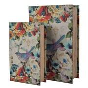 August Grove 2 Piece Bird Book Box Set