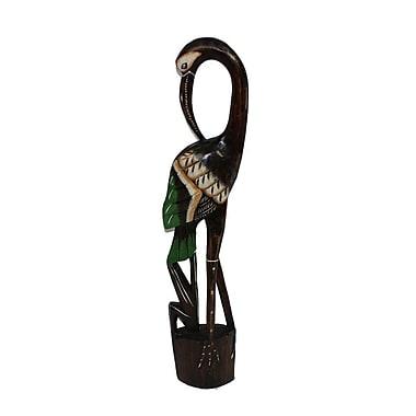 Bloomsbury Market Brown Bird Figurine