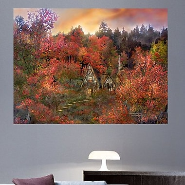 Alcott Hill 'Autumn Hideaway' Graphic Art Print Poster; 45'' H x 60'' W