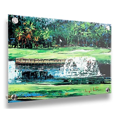 Darby Home Co 'Signature Hole' Acrylic Painting Print; 24'' H x 32'' W x 0.25'' D