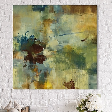 Ivy Bronx 'Skyliner I' Painting Print on Wrapped Canvas; 24'' H x 24'' W