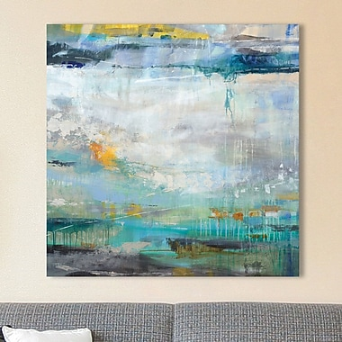 Ivy Bronx 'Atmosphere' Painting Print on Wrapped Canvas; 18'' H x 18'' W