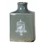 Ophelia & Co. Sea Green Ceramic Bird Vase; Small