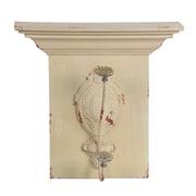 Ophelia & Co. Wood and Metal Wall Hook; White