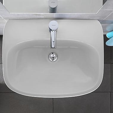 Bissonnet Moda Ceramic 24'' Wall Mount Bathroom Sink