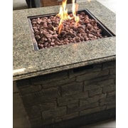 Deeco Stone Propane Fire Pit Table
