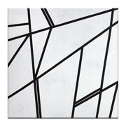 George Oliver 'Geometric 7' Graphic Art Print on Wrapped Canvas; 16'' H x 16'' W