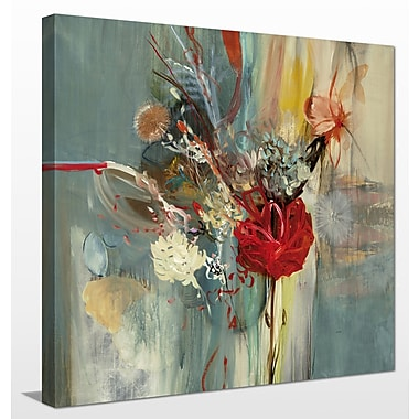Ivy Bronx 'Floral Life' Painting Print on Wrapped Canvas; 24'' H x 24'' W