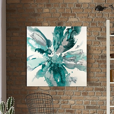 Ivy Bronx 'Flower Explosion' Graphic Art Print on Wrapped Canvas; 36'' H x 36'' W
