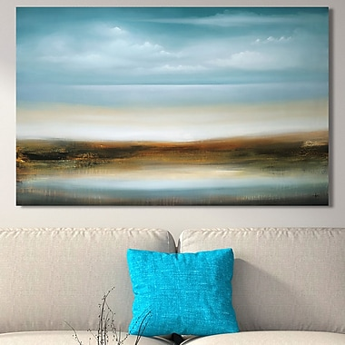 Latitude Run 'Scape 309' Painting Print on Wrapped Canvas; 18'' H x 30'' W