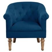 Ophelia & Co. Loredana Tufted Arm Chair; Blue
