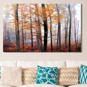 Loon Peak 'Lost in the Forest' Photographic Print on Wrapped Canvas; 18'' H x 30'' W