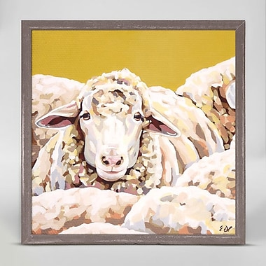 Gracie Oaks 'Sheepish' Framed Print on Canvas