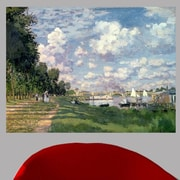 Astoria Grand 1872 'The Marina at Argenteuil' by Claude Monet Painting Print Poster; 18'' H x 24'' W