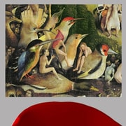 Astoria Grand 16th 'The Garden of Earthly Delights' Rectangle Oil Painting Print Poster