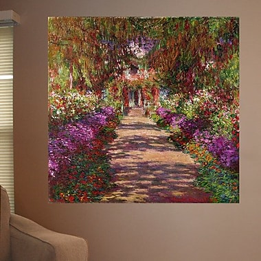 Astoria Grand 1902 'A Pathway in Monet's Garden' by Claude Monet Oil Painting Print Poster