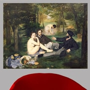 Astoria Grand 1863 'Dejeuner sur l'Herbe' by Edouard Manet Oil Painting Print Poster