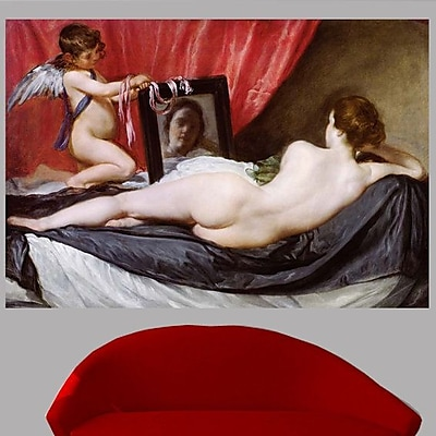 Astoria Grand 17th 'The Rokeby Venus' Oil Painting Print Poster; 41'' H x 60'' W