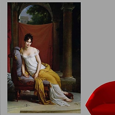Astoria Grand 'Portrait of Madame Recamier' Oil Painting Print Poster; 72'' H x 47.5'' W